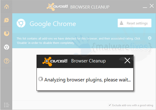 Avast Browser Scanner