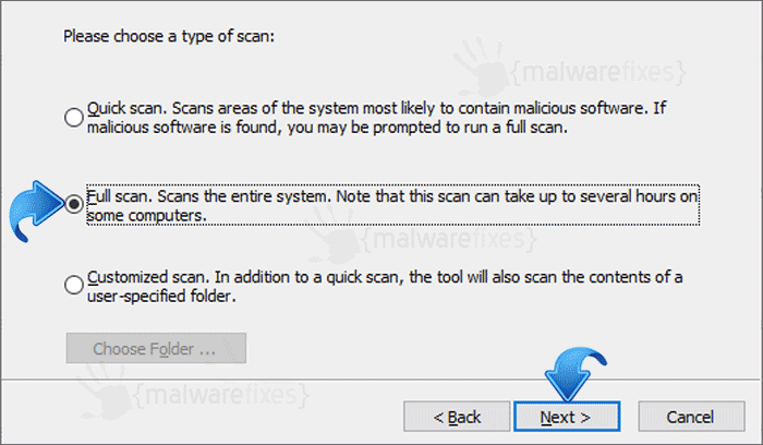 MSRT Scan