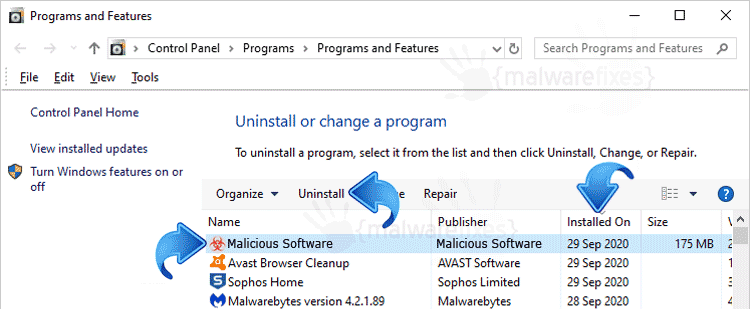 Add-Remove Malware