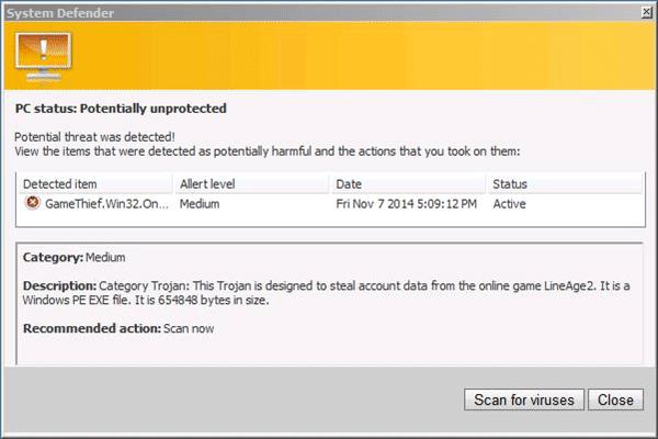 Rogue:Win32/Trapwot