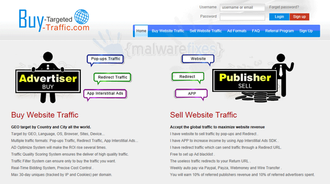 Buy-targeted-traffic.com - Virus Lists and Removal Steps