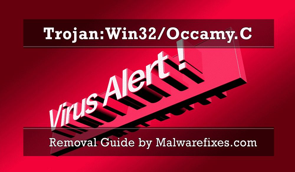 Illustration for Trojan:Win32/Occamy.C