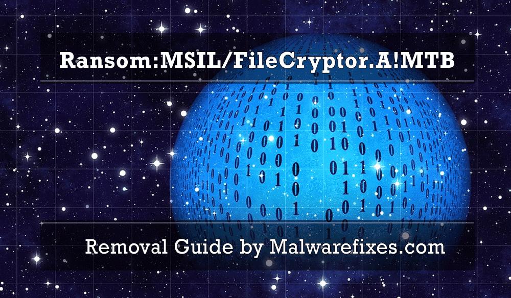 Illustration for Ransom:MSIL/FileCryptor.A!MTB