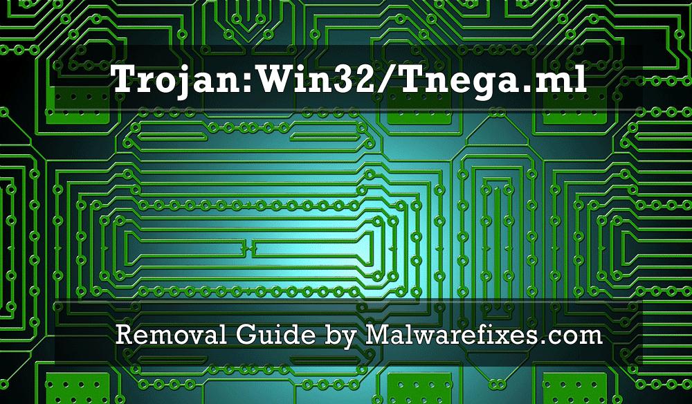Illustration for Trojan:Win32/Tnega.ml