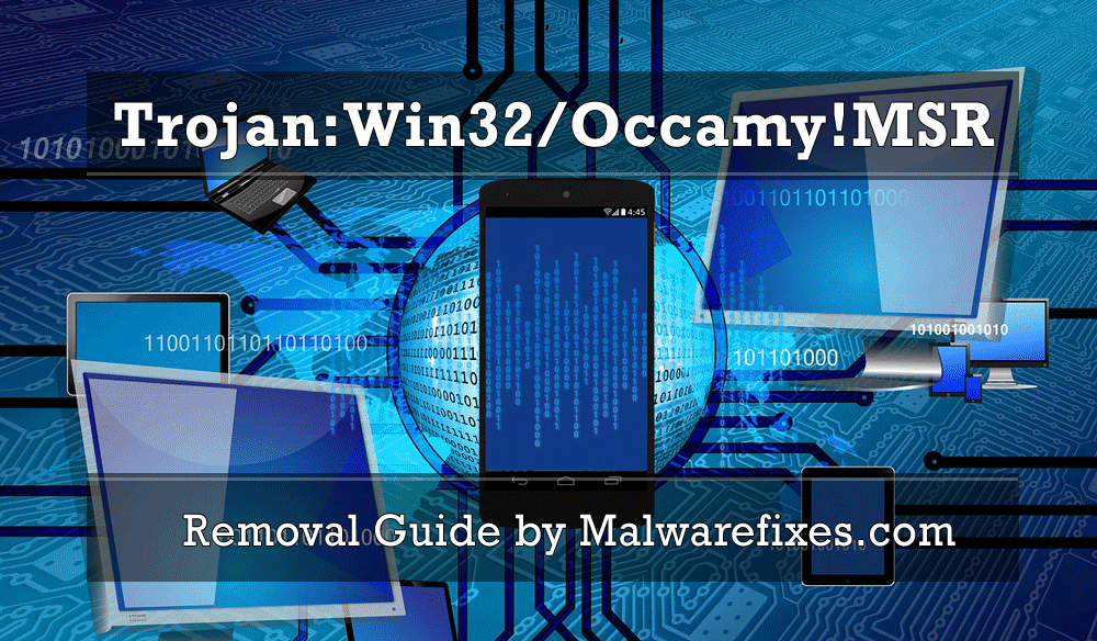 Image of Trojan:Win32/Occamy!MSR