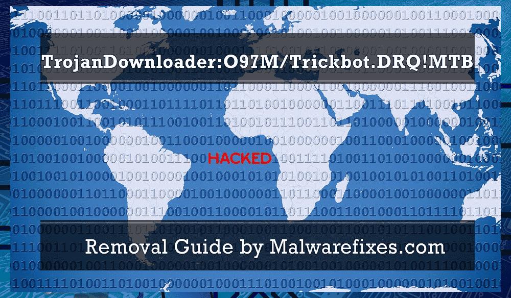 Illustration for TrojanDownloader:O97M/Trickbot.DRQ!MTB