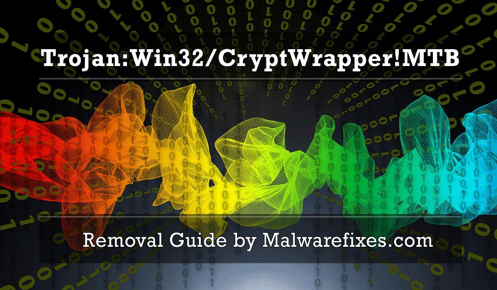 Illustration for Trojan:Win32/CryptWrapper!MTB