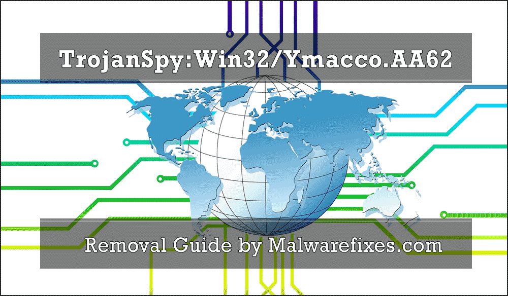 Illustration for TrojanSpy:Win32/Ymacco.AA62
