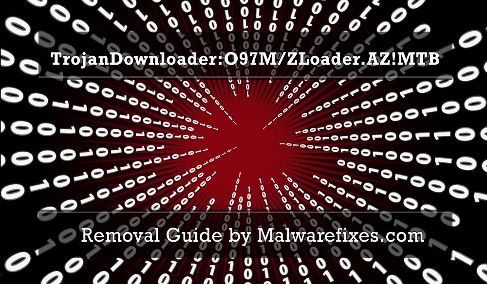 Illustration for TrojanDownloader:O97M/ZLoader.AZ!MTB