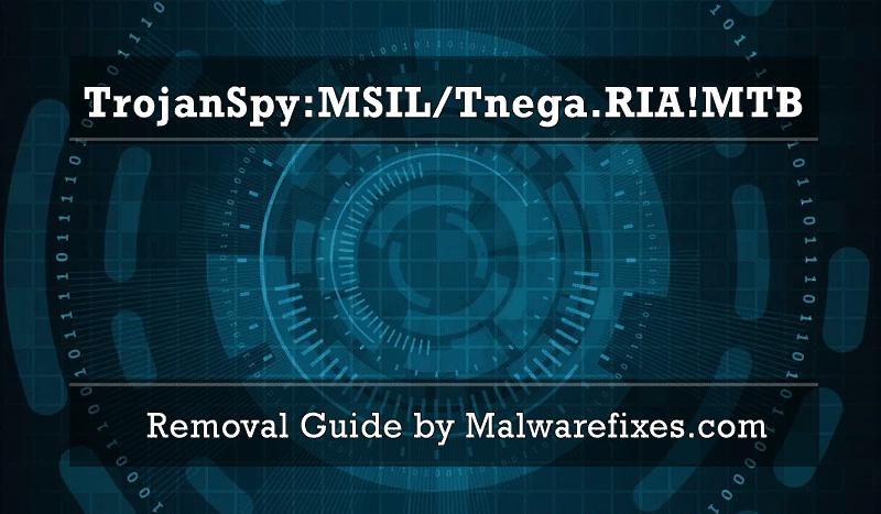 Illustration for TrojanSpy:MSIL/Tnega.RIA!MTB