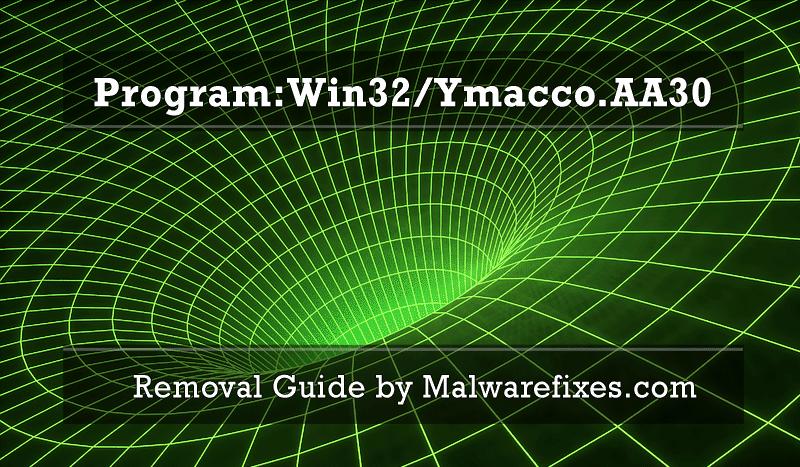 Illustration for Program:Win32/Ymacco.AA30