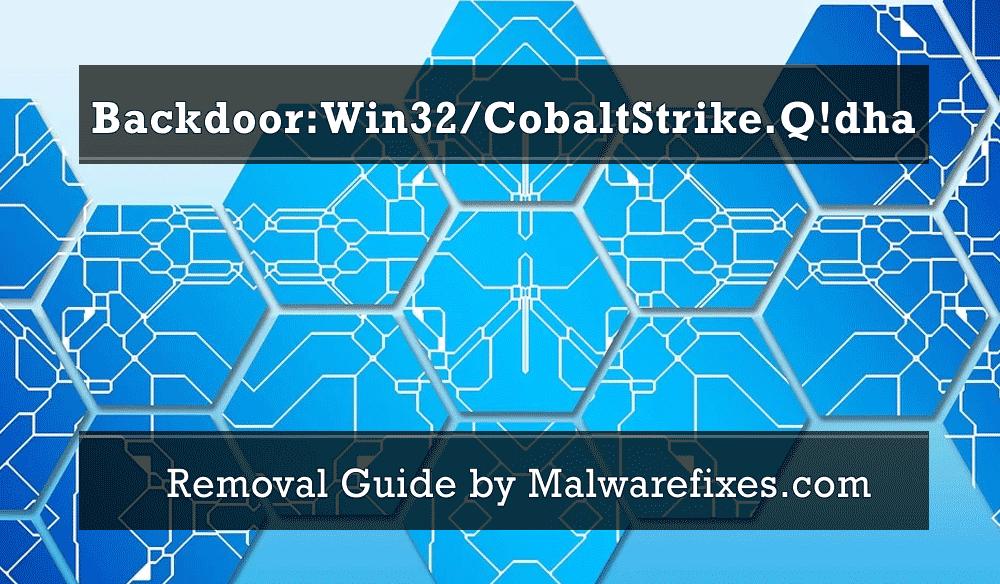Illustration for Backdoor:Win32/CobaltStrike.Q!dha