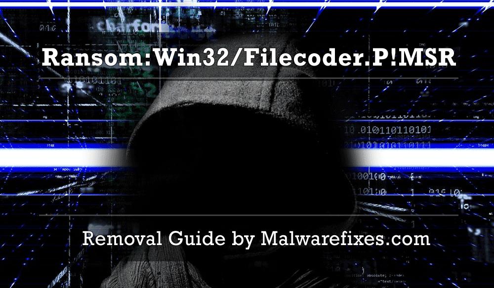 Illustration for Ransom:Win32/Filecoder.P!MSR