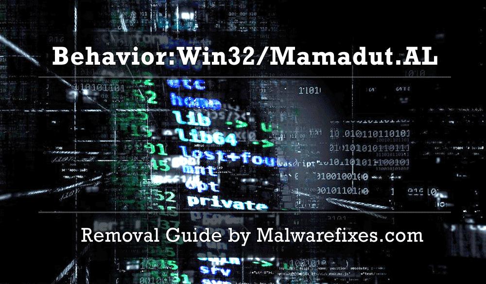 Illustration for Behavior:Win32/Mamadut.AL