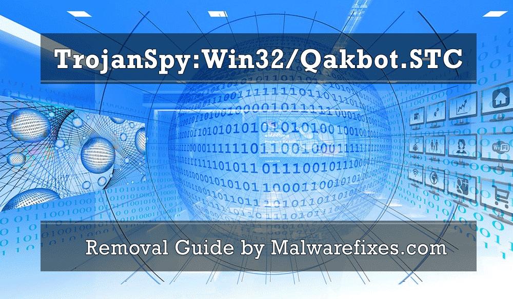 Illustration for TrojanSpy:Win32/Qakbot.STC