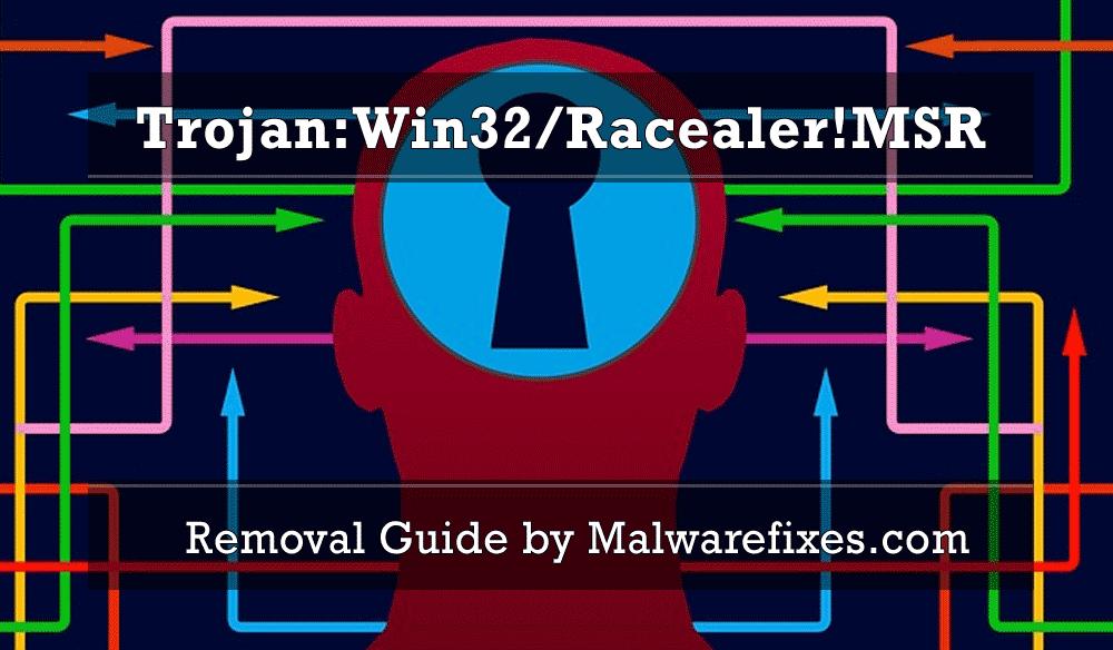 Illustration for Trojan:Win32/Racealer!MSR