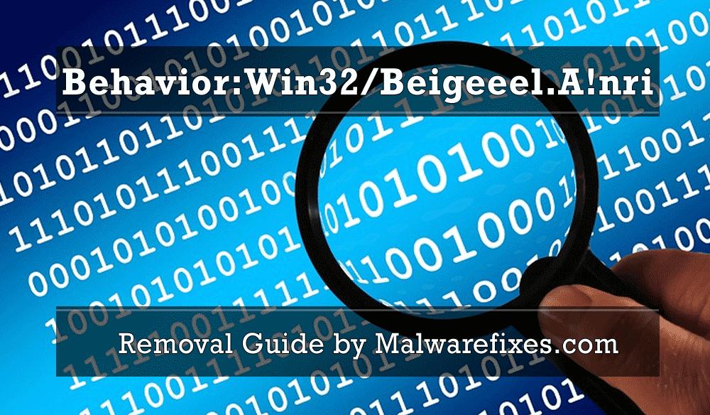 Illustration for Behavior:Win32/Beigeeel.A!nri