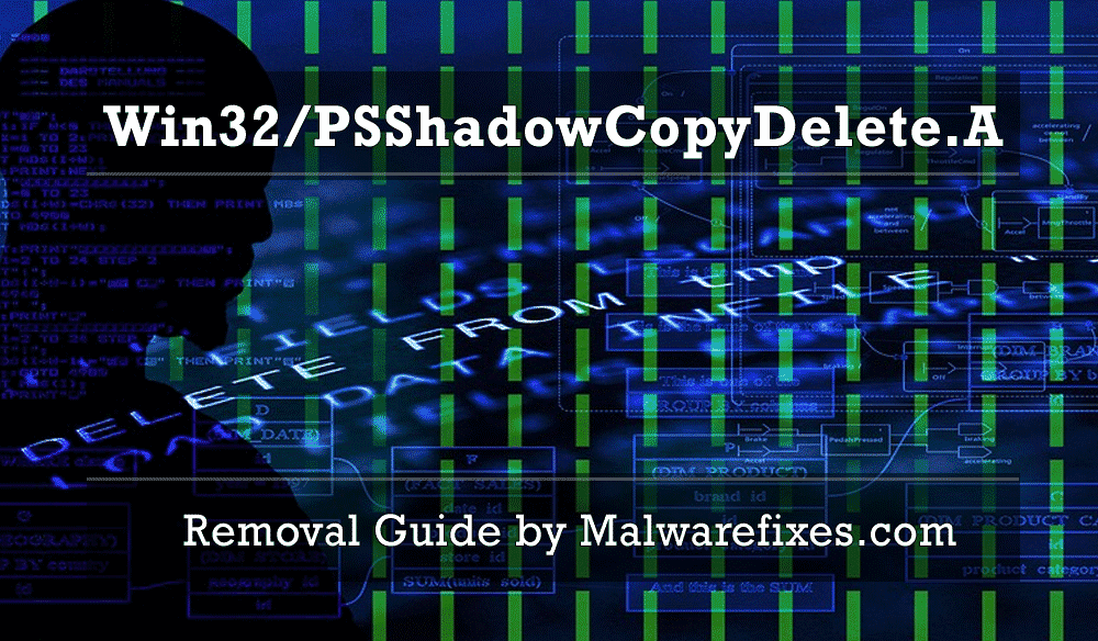 Illustration for Behavior:Win32/PSShadowCopyDelete.A