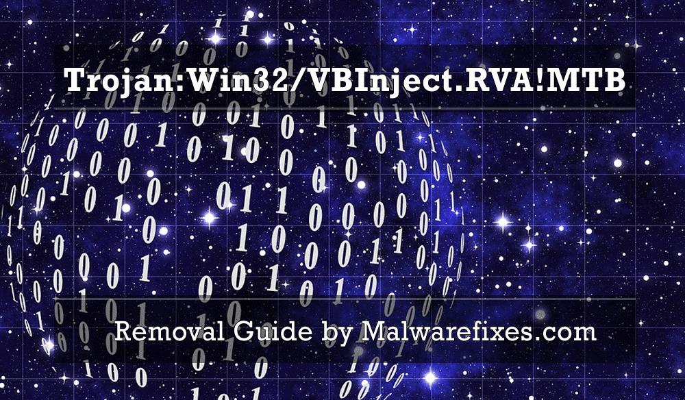 Illustration for Trojan:Win32/VBInject.RVA!MTB