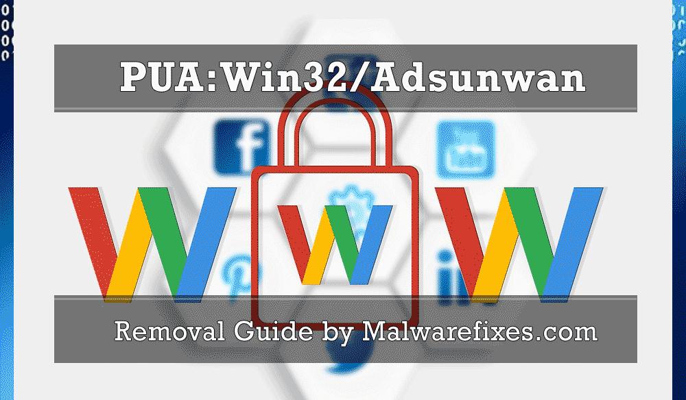 Illustration for PUA:Win32/Adsunwan