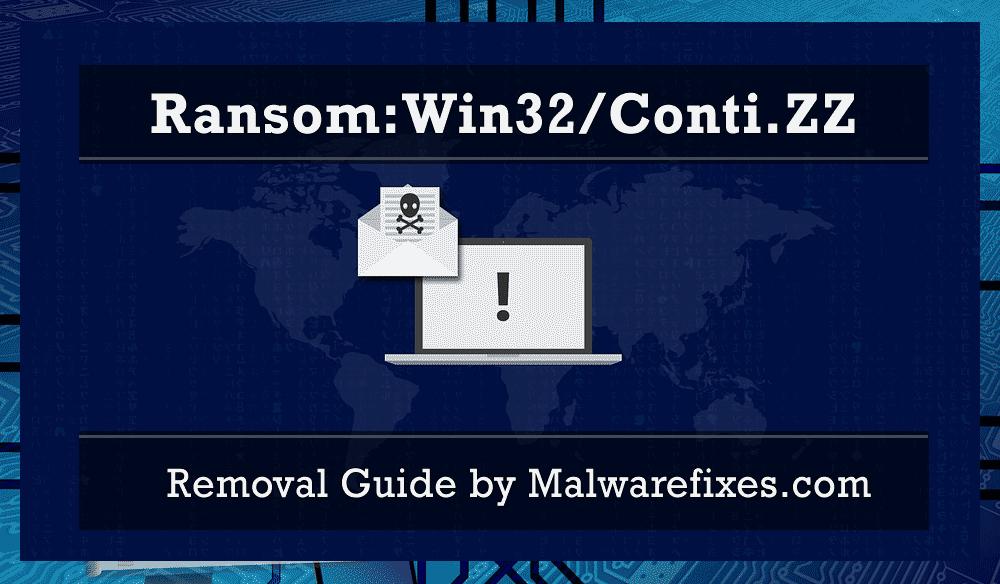 Illustration for Ransom:Win32/Conti.ZZ