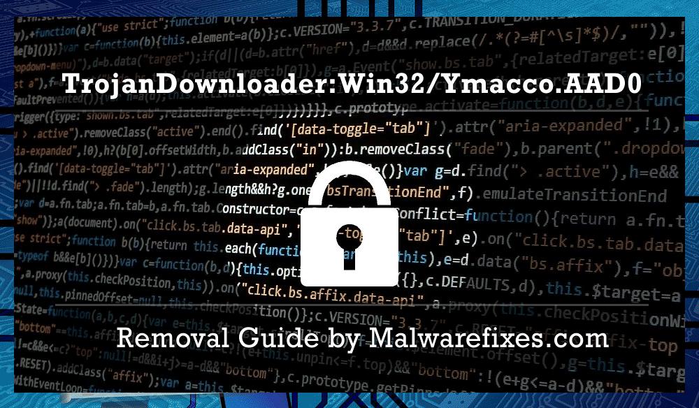 Illustration for TrojanDownloader:Win32/Ymacco.AAD0