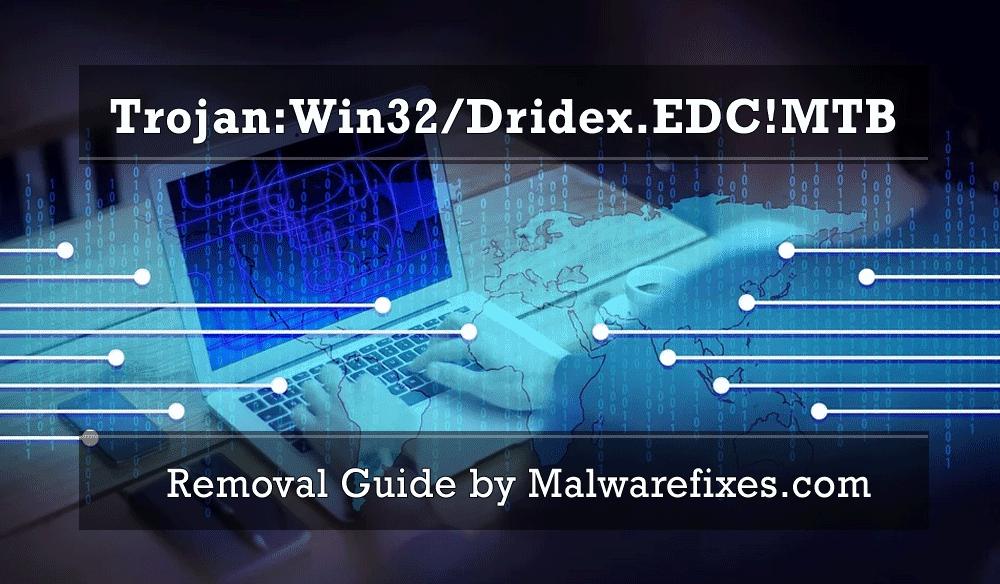 Illustration for Trojan:Win32/Dridex.EDC!MTB