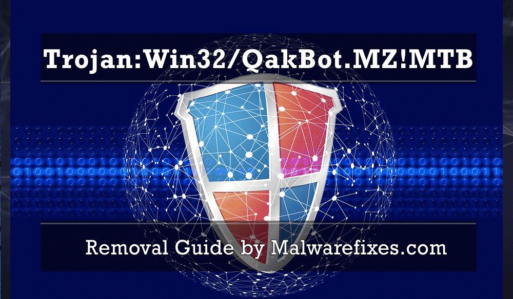 Illustration for Trojan:Win32/QakBot.MZ!MTB