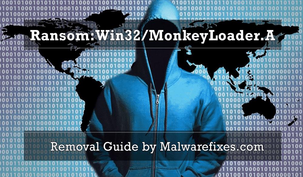 Illustration for Ransom:Win32/MonkeyLoader.A