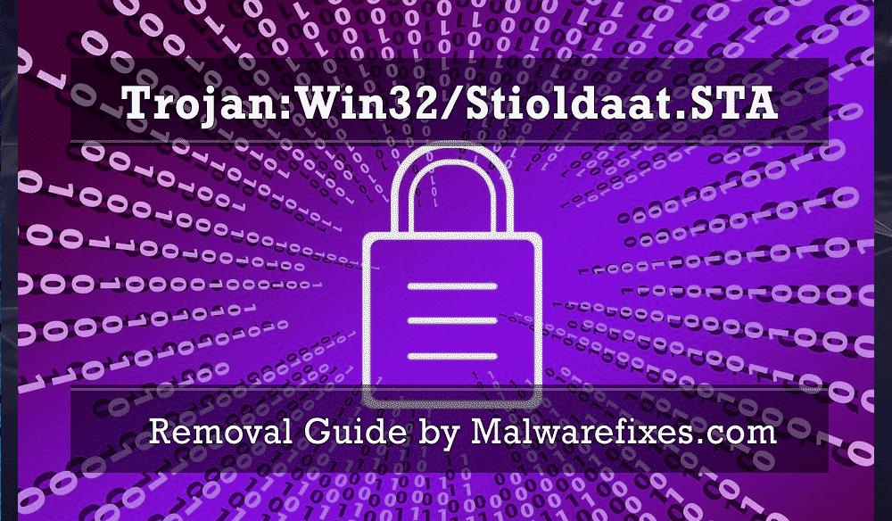 Illustration for Trojan:Win32/Stioldaat.STA