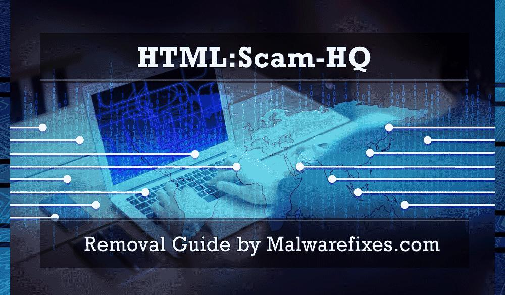 Illustration for HTML:Scam-HQ