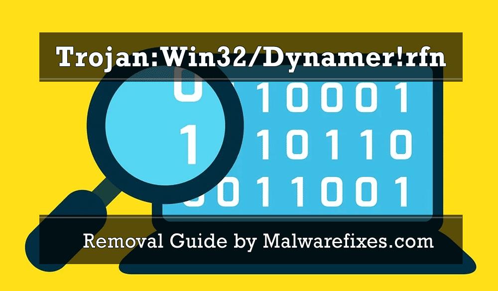 Illustration for Trojan:Win32/Dynamer!rfn
