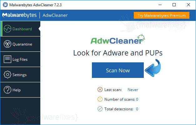AdwCleaner Search