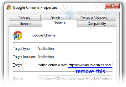 deltahomes-chromeshortcut