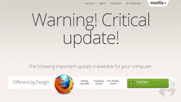 WarningCriticalupdate-Firefox