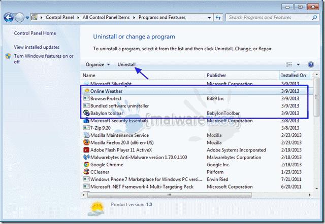 Bundled-Software-Uninstaller