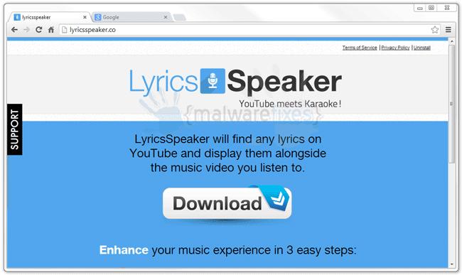lyricsspeaker web site