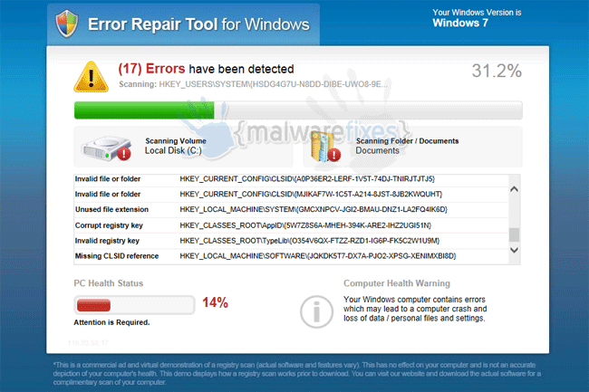 Error Repair Tool for Windows
