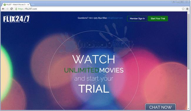 Flix247.com Screenshot Image