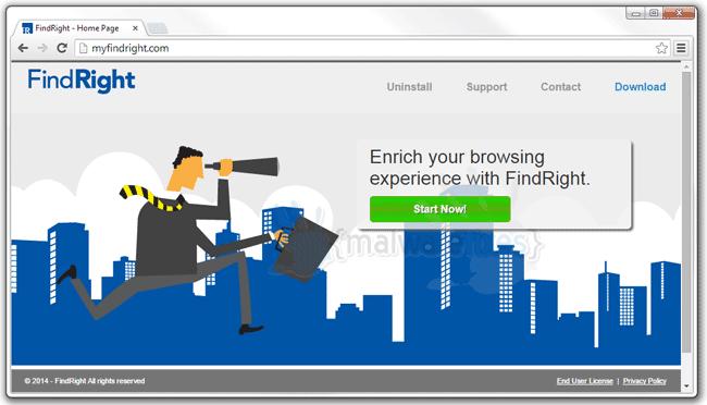 FindRight-Adware
