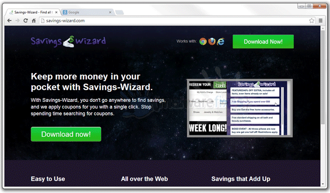 Savings-Wizard