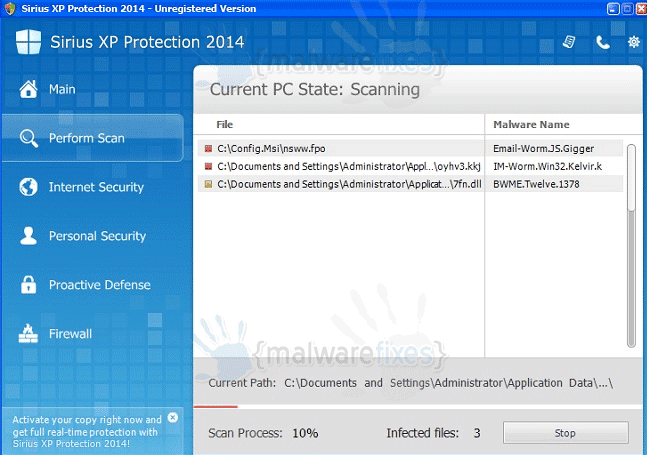 Sirius XP Protection 2014