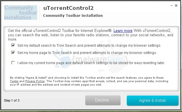 uTorrentControl2 Toolbar