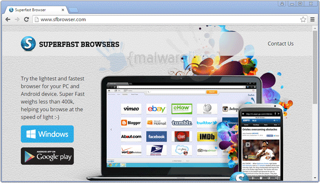 Superfast Browser