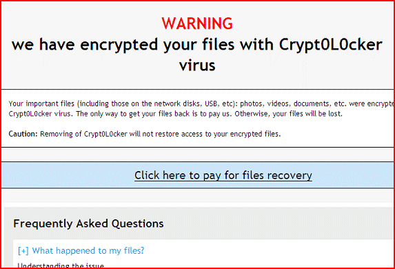 Image of Crypt0L0cker ransom note