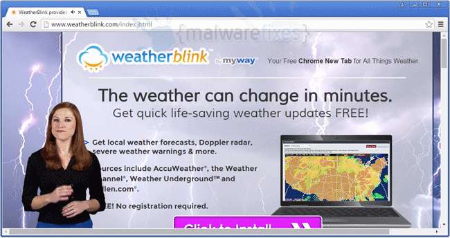 WeatherBlink