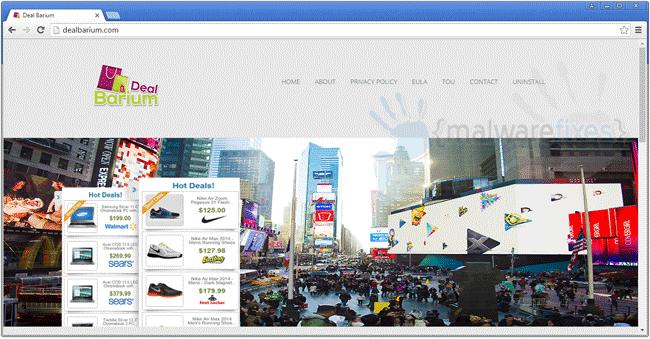 Image of DealBarium website