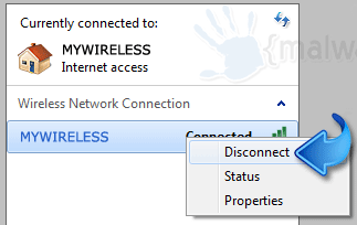 Disconnect Wifi