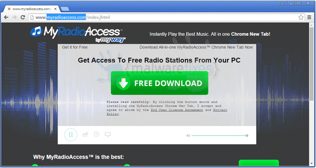 MyRadioAccess Toolbar