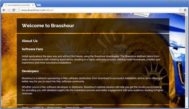 Screenshot of Brasshour